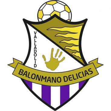 escudo balonmano delicias