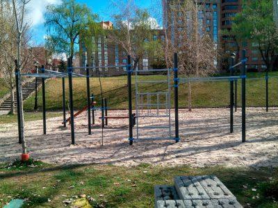 Workout Parque Moreras