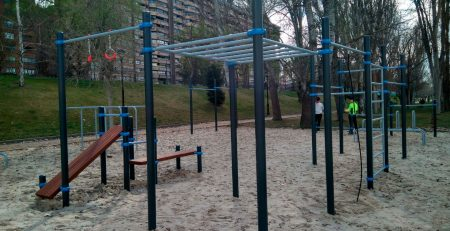 Workout Parque Moreras